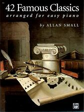 42 Famous Classics for Easy Piano by , (Paperback), Alfred Music , New, Free Shi