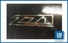 set 2 - Z71 Offroad 01 <-> 06 sticker decal Parts Chevy Silverado 4x4 - CHROME