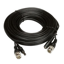 Zxtech 10M Black Pre-Made RG59 Siamese Cable