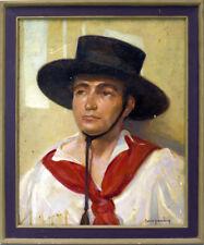 Spanish Bolero Original Oil Painting by Maurice Greenberg
