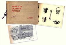 Argenteria Calderoni Fratelli. Fabbrica articoli di metallo Calderoni Fratelli.