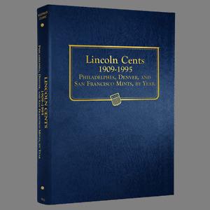 Whitman US Lincoln Cent Coin Album 1909-1995 P-D-S #9112