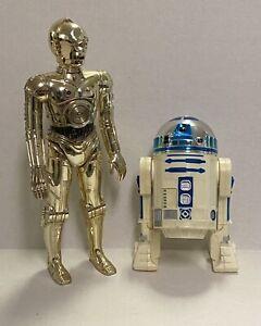 """Vintage Star Wars 12"""" R2-D2 & C3PO Figure Lot 1978 Kenner Inch Nice!! Original"""