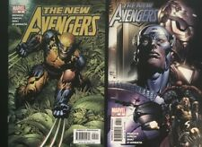 The New Avengers #5 & #6 (2005, Marvel) Finch Covers • Combined Shipping