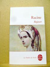 Livre Bajazet Racine livre de poche /T30