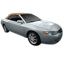 Toyota Solara Convertible Soft Top With Heated Glass Window 1999-2003 Tan Cloth
