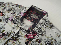 """TED BAKER Mens Shirt 🌍 Size 3 (CHEST 42"""") 🌎 RRP £65-129+ 📮 FLORAL LIBERTY"""