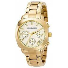 MICHAEL KORS MK5132 GOLD-TONE STAINLESS STEEL LADIES CHRONOGRAPH WRISTWATCH