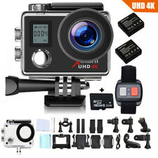 32GB Campark 4K Sports Action Camera WIFI FHD Remote Control Waterproof DVR Cam