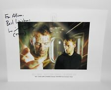 Doctor Who The Satan Pit Hand Signed Photo Autograph Will Thorp Toby Zed