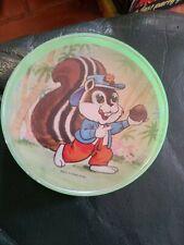 Vintage plastic   skill ball game cartoon characters