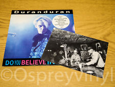 DURAN Do You Believe In Shame? part 2 + postcard EX Shop Stock 1989 DDB 12