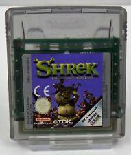 Nintendo Game Boy Color GBC - Shrek Fary Tale Freak Down + Antz