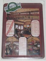 Carte Postale Plaque Affiche Métal 14x10 cm Train Nord Express NEUF