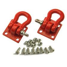 1:10 Scale Schäkel mit Flansch aus Metall rot pulverlackiert für RC Crawler Rot
