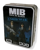 MIB Men In Black Undercover Card Game Tin Storage Box Tokens Aliens IDW SEALED