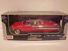 1958 Chevy Impala Convertible Die-cast Car 1:18 by Motormax 10 inch Red