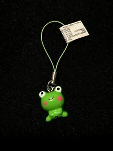 Hello Kitty Frog Mobile Cell Phone Charm Gift / Collectibles