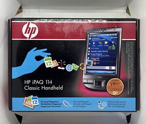 Boxed - HP iPaq 114 Classic Handheld PDA (FA982AT#ABB) New Fully Sealed Rare