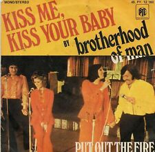 45 RPM - Brotherhood of Man - Kiss Me, Kiss Your Baby