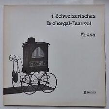 Orgue Schweizerisches Drehorgel Festival Arosa CLAVES D 907