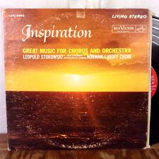 Leopold Stokowski Inspiration LP RCA Living Stereo VG
