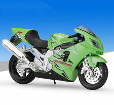 1:18 Maisto Kawasaki Ninja ZX 12R Motorcycle Bike Model Green New In Box