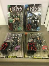 Kiss Ultra-Action Figures McFarlane Toys Complete Set Ace Gene Peter Paul WS33