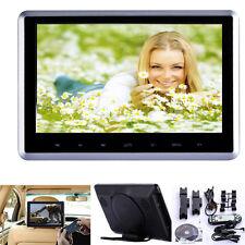 "HDMI 10"" HD Digital LCD Screen Car Headrest Monitor Mount DVD MP4 Player USB/SD"