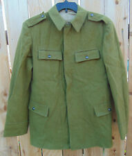 Genuine Romanian Army Wool Jacket U.S.Size M/Reg, excellent, non-issued cond.