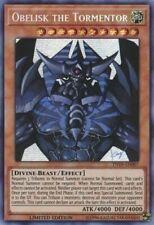 Yugioh Cards - Obelisk the Tormentor (TN19-EN007) - 1st Edition - (NM/M)