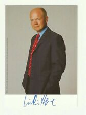 Rt Hon Lord William Hague Former MP and Conservative Leader Hand Signed Photo