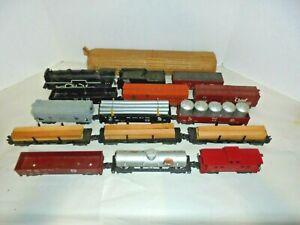 AMERICAN FLYER 20118 VINTAGE S GAUGE UNCATALOGED TRAIN SET ENGINE RUNS GREAT