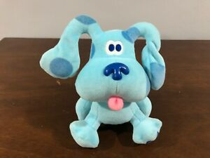 "Blues Clues Plush 7"" Small Puppy Dog Small Animal Viacom Eden VINTAGE 90s"