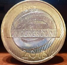 RARE COMMEMORATIVE £2 TWO POUND COIN 2013 LONDON UNDERGROUND COIN HUNT