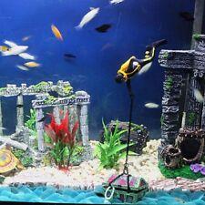 Aquarium Fish Tank Decoration Plastic Treasure Hunter Diver Ornament Accessories