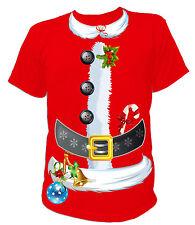 UNISEX T-Shirt - Weihnachten Santa Claus Kostüm Merry Christmas Weihnachtsmann