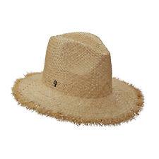 Tommy Bahama Womens Gold Stitch Fringe Safari Hat NWOT (Natural)