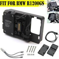ADV Accessories Phone Navigation Bracket Holder USB Charging For BMW R1200GS