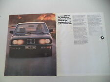 advertising Pubblicità 1985 BMW 518 I