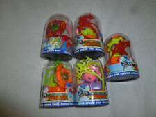 NEW STORM WIND SUPER SPPED TOP LOT OF 5 BEYBLADE TOYS