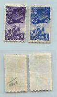 Russia USSR 1947 SC 1159-1160 used . rtb3183