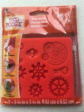 Mod Podge Molds / mould. - Industrial  - steampunk... make embellishments.