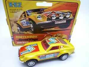 VINTAGE MATCHBOX SPEEDKINGS K52 DATSUN 240Z IN ORIGINAL BOX 1974 *CUSTOMISED*