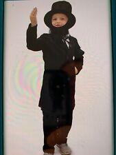 Abe Lincoln Costume Civil War Child Size Large 10-12