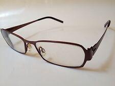 a140de1b59 Morel France Lightec Prescription Eyeglasses 6760L 52-16-135 PG 001 Brown  metal