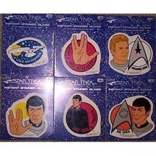 Star Trek Movie Fensteraufkleber - Set (6) von 1979!!