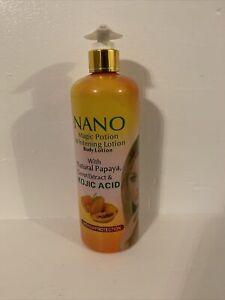 Nano magic potion whitening Body lotion 500ml wit Gluta & Kojic Acid. Original
