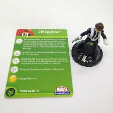 Heroclix Secret Invasion set Dum Dum Dugan (Skrull) #032b Rare figure w/card!