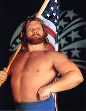 "HACKSAW JIM DUGGAN WWE WRESTLING 8x10"" PROMO PHOTO wwf wcw"